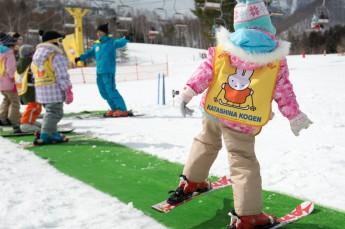スキースクールで楽しく上達